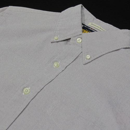 オックスフォードシャンブレーロングスリーブシャツ - 3