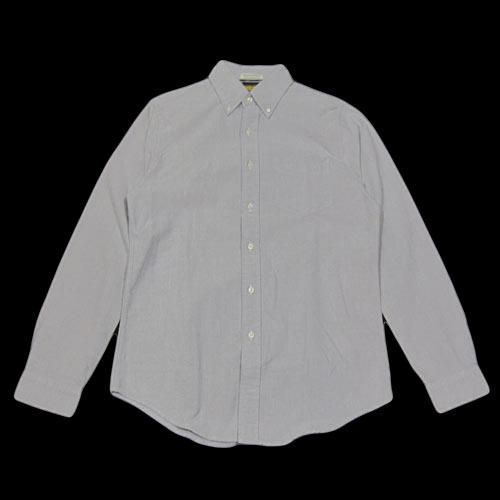 オックスフォードシャンブレーロングスリーブシャツ