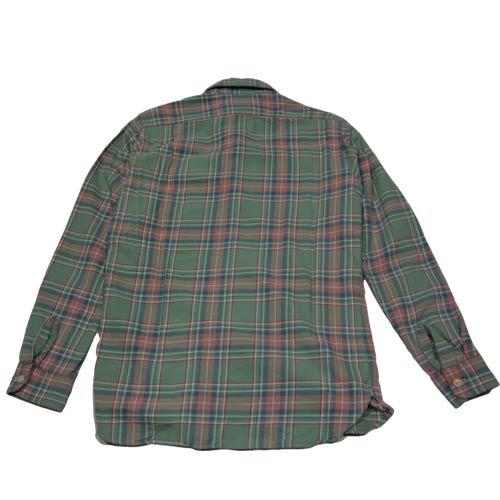 ビンテージロングスリーブフランクネルシャツ - 1