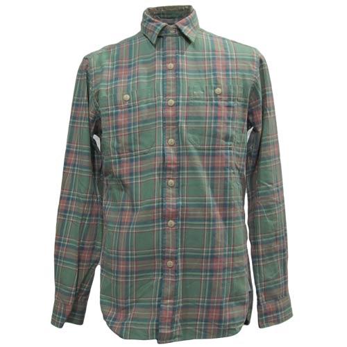 ビンテージロングスリーブフランクネルシャツ - 2