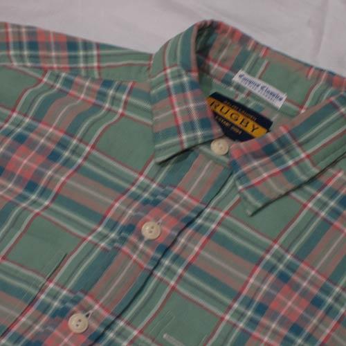 ビンテージロングスリーブフランクネルシャツ - 3