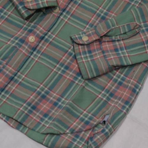 ビンテージロングスリーブフランクネルシャツ - 4