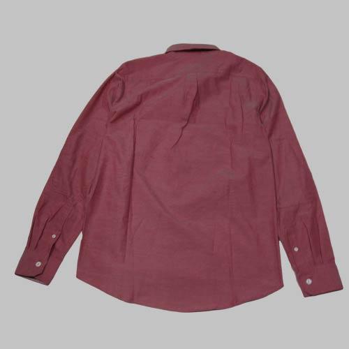 ビンテージレッドシャンブレーロングスリーブシャツ-2