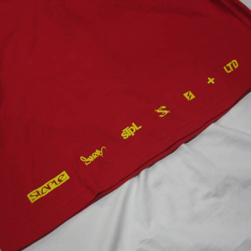 グラデーションプリント半袖Tシャツ-4