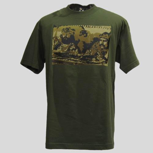フロントプリント半袖Tシャツ-3