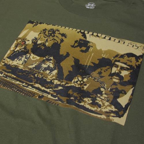 フロントプリント半袖Tシャツ-4