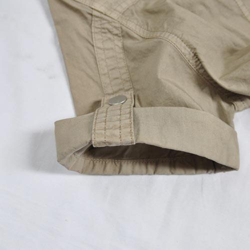 ミリタリー半袖ボタンシャツ - 4