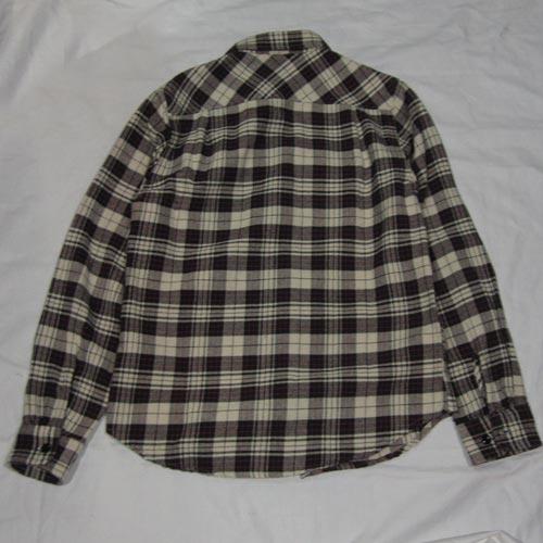 タータン・チェックフランネルシャツ - 1