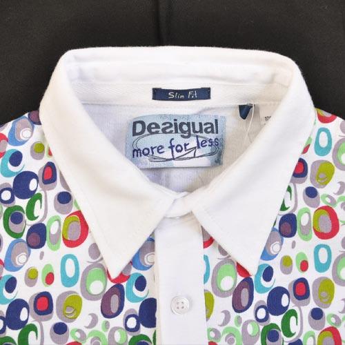 デジタルドット半袖ポロシャツ - 2