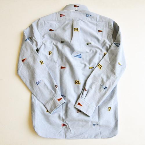 POLO RALPH LAUREN / ポロラルローレン モノグラムシャンブレーシャツ - 1
