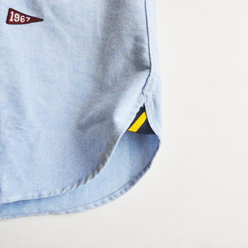 POLO RALPH LAUREN / ポロラルローレン モノグラムシャンブレーシャツ - 3
