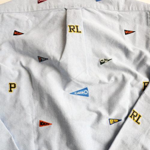 POLO RALPH LAUREN / ポロラルローレン モノグラムシャンブレーシャツ - 5