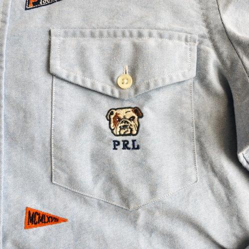 POLO RALPH LAUREN / ポロラルローレン モノグラムシャンブレーシャツ - 7