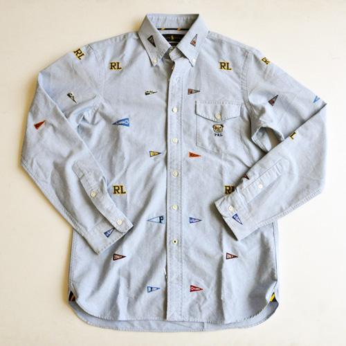POLO RALPH LAUREN / ポロラルローレン モノグラムシャンブレーシャツ