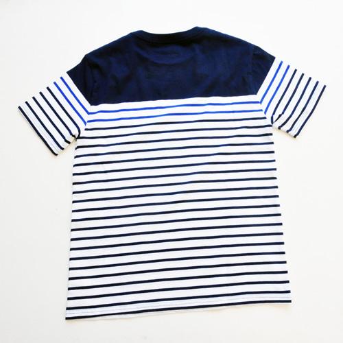 RALPH LAUREN / ラルローレン ワンポイント ボーダーTシャツ BOY'S SIZE - 1