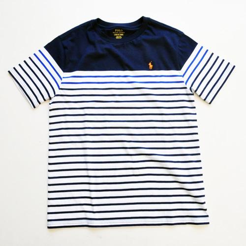 RALPH LAUREN / ラルローレン ワンポイント ボーダーTシャツ BOY'S SIZE