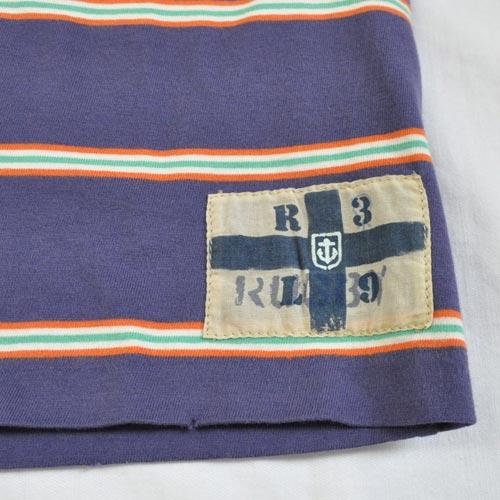 半袖ボーダーTシャツ - 2