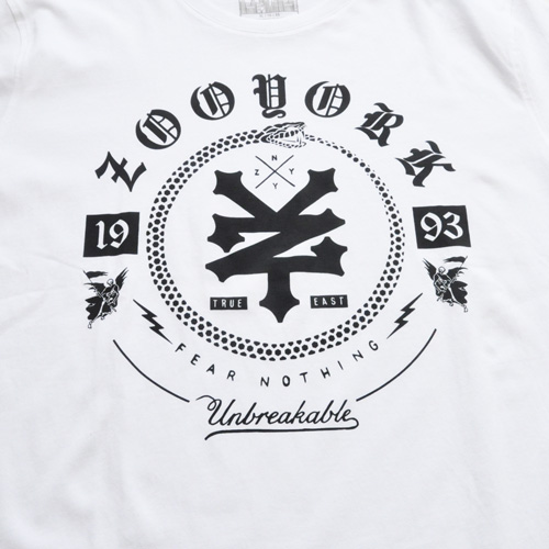 ZOO YORK/ズーヨーク オールドイングリッシュフォントTシャツ BIG SIZE - 2