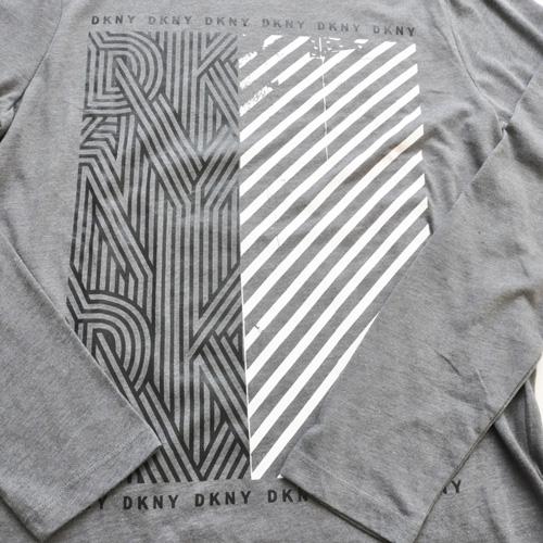 DKNY / ダナキャラン フロントプリント L/Sシャツ - 2