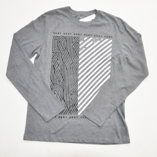DKNY / ダナキャラン フロントプリント L/Sシャツ