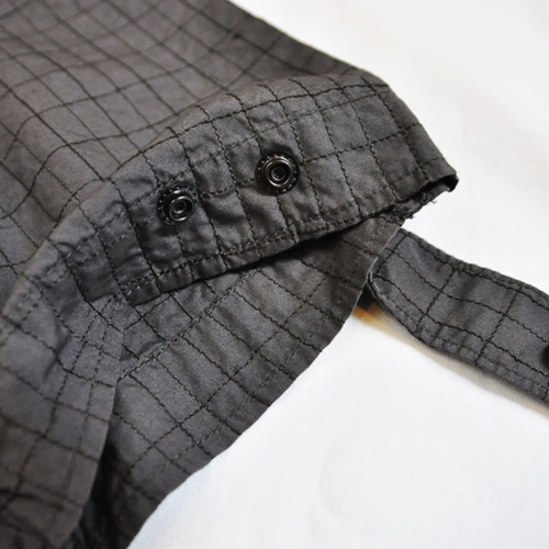 ミリタリーチェック半袖シャツ - 5