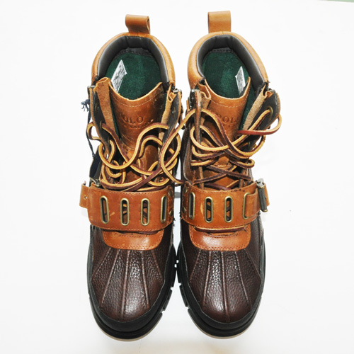 RALPH LAUREN/ラルフローレン   Polo Andres III - Briarwood Pitstop/Tan Leather - 4