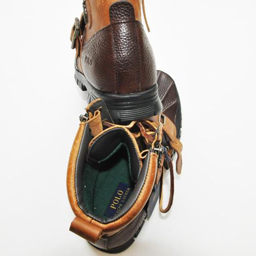 RALPH LAUREN/ラルフローレン   Polo Andres III - Briarwood Pitstop/Tan Leather - 6