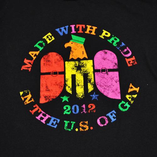 両面プリント半袖Tシャツ - 1
