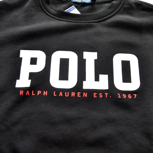 RALPH LAUREN / ポロラルローレン フロントロゴ クルースウェット-3