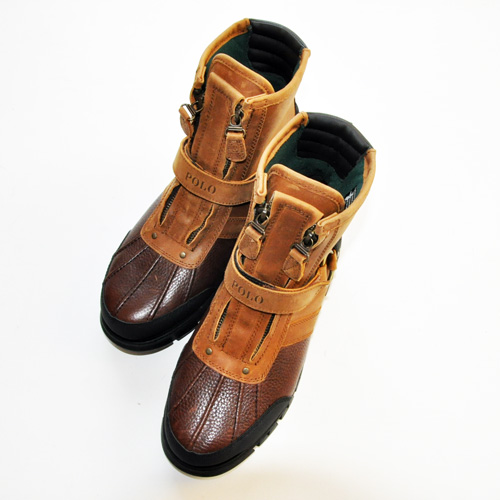 RALPH LAUREN/ラルフローレン  ミリタリーブーツ Leather - 1