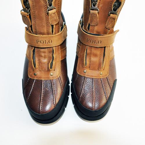 RALPH LAUREN/ラルフローレン  ミリタリーブーツ Leather-4