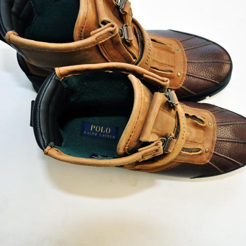 RALPH LAUREN/ラルフローレン  ミリタリーブーツ Leather-5