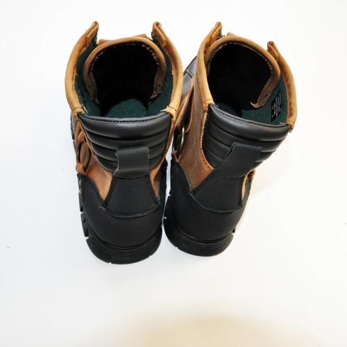 RALPH LAUREN/ラルフローレン  ミリタリーブーツ Leather-6