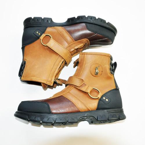 RALPH LAUREN/ラルフローレン  ミリタリーブーツ Leather