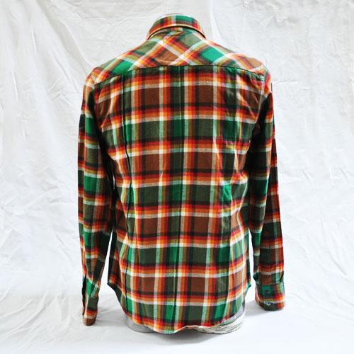 長袖チェックシャツ - 1