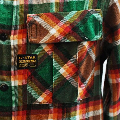 長袖チェックシャツ - 2