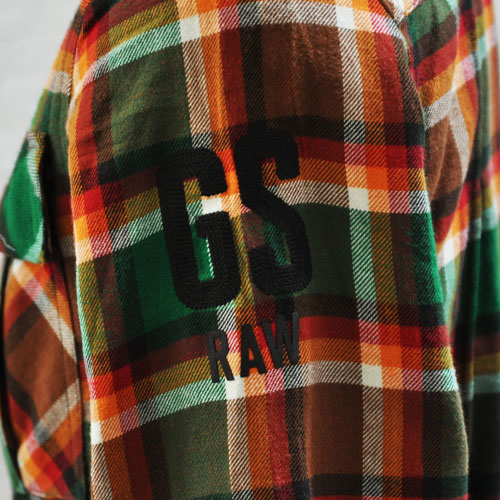 長袖チェックシャツ - 4