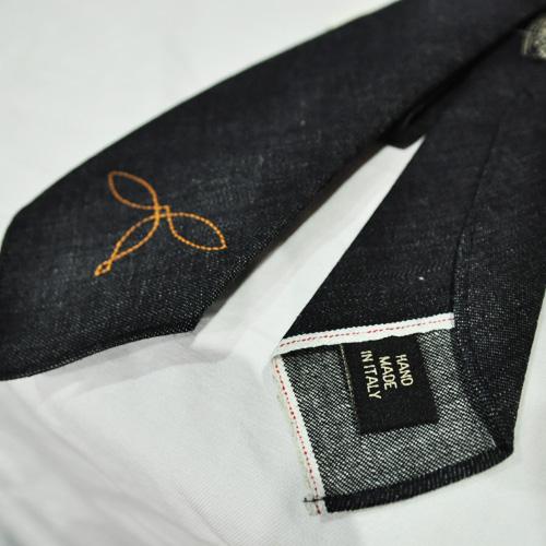 生デニム ネクタイ - 5