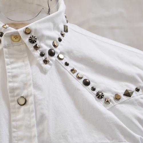 ウエスタン風長袖シャツ - 1