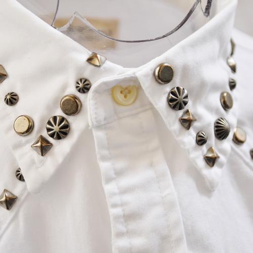 ウエスタン風長袖シャツ - 2