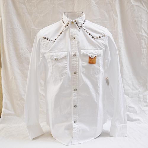 ウエスタン風長袖シャツ