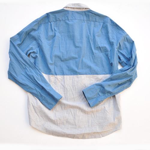 J.crew/ジェイクルー 切り返しボタンシャツ - 1