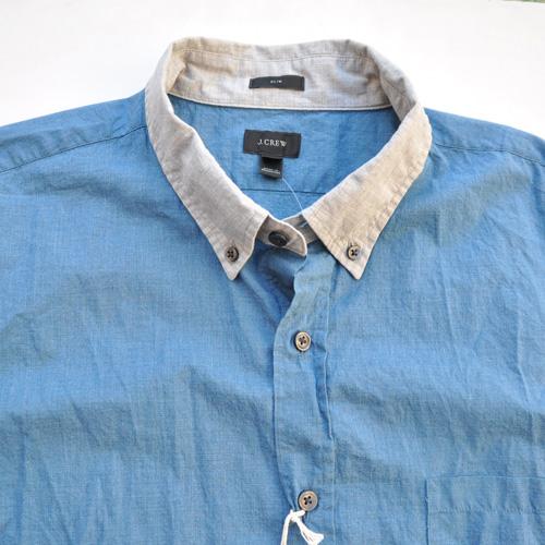 J.crew/ジェイクルー 切り返しボタンシャツ - 2