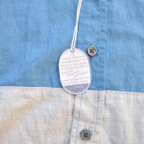 J.crew/ジェイクルー 切り返しボタンシャツ - 3