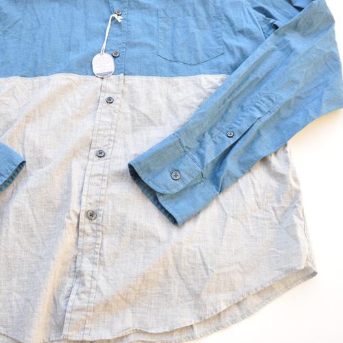J.crew/ジェイクルー 切り返しボタンシャツ - 4