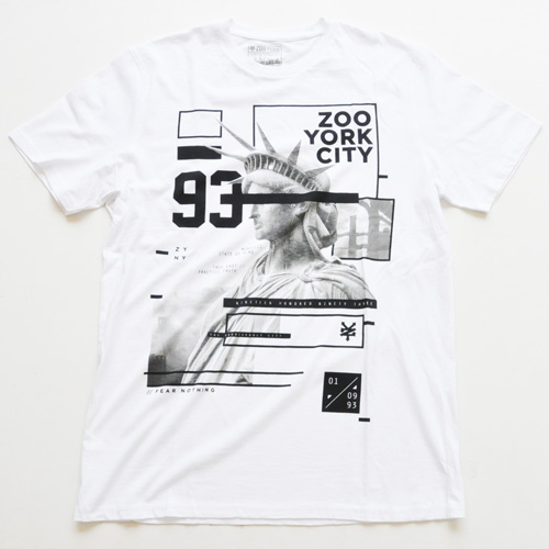 ZOO YORK / ズーヨーク ZOO YORK CITY Tシャツ