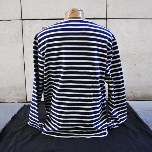 ヴィンテージマリンボーダー長袖Tシャツ - 2