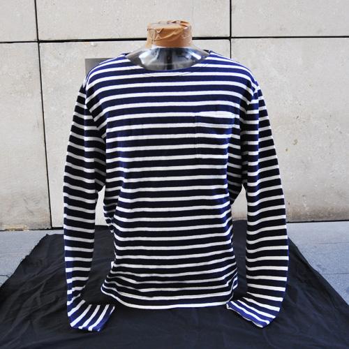 ヴィンテージマリンボーダー長袖Tシャツ