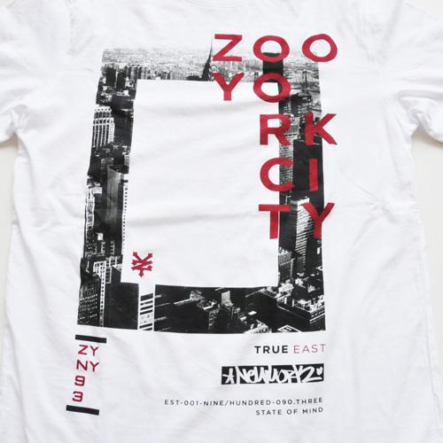 ZOO YORK/ズーヨーク  フロントプリントTシャツ #1 - 2