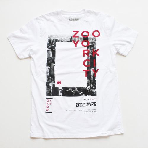 ZOO YORK/ズーヨーク  フロントプリントTシャツ #1